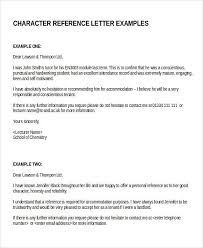 character reference template uk personal character reference