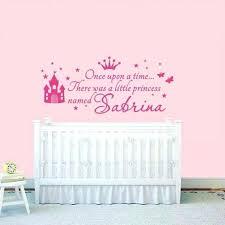 stickers pour chambre bebe stickers decoration chambre bebe personnalisac princesse fille nom