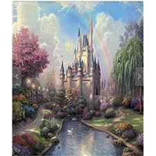 Castle Backdrop Amazon Com Pink Princess Castle Vinyl Backdrop For 5x7