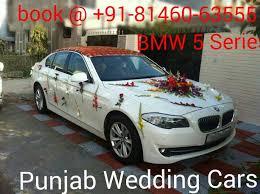 car hire bmw luxury wedding cars hire punjab chandigarh india luxury car bmw 5