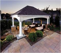 Gazebos For Patios Covered Gazebos For Patios Inviting Patio Gazebo Cover Ideas