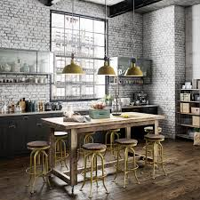 whitewashed brick interior is the best way to add texture in your