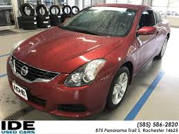 nissan altima z5s used pre owned 2013 nissan altima 2 5 s 2dr car in rochester uh5591