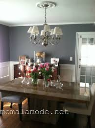 my gray dining room benjaminmoore cinder and dove white via