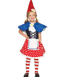 garden gnome kids costume leg avenue c48179
