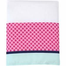Aqua And Pink Crib Bedding by Disney Ariel Sea Treasures 3 Piece Crib Bedding Set Walmart Com