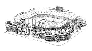 baseball stadium coloring pages coloring home