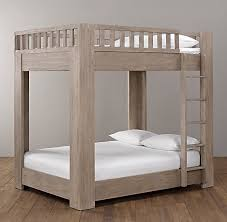 Callum Platform FullOverFull Bunk Bed All Beds Restoration - Queen bunk bed plans