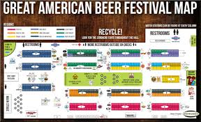 Colorado Breweries Map by Fermentedly Challenged 2011 Gabf Floor Map