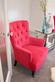 Affordable Accent Chair New Fuchsia Chairs In My Living Room A Slice Of Style