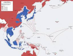 Map Of Pacific Islands Leapfrogging Strategy Wikipedia