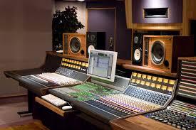 Recording Studio Mixing Desk by Communication In The Studio U2013 Signature Sound