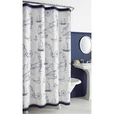Nautical Shower Curtains Buy Nautical Bath Curtain From Bed Bath Beyond