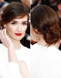 Hochsteckfrisurenen Ohren Verstecken by Cannes Frisuren Starlooks Zum Nachstylen