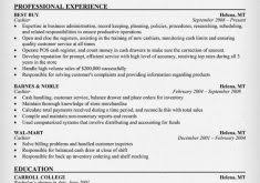 Cashier Resume Sample by Amazing Chic Cashier Resume Sample 11 Of For Job Resume Example