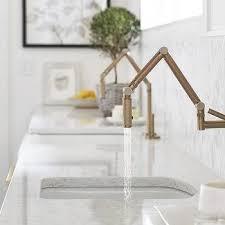 kohler brass kitchen faucets articulating brass kitchen faucet design ideas