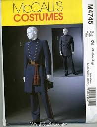 Patterns Halloween Costumes 48 Civil War Costume Patterns Images Costume