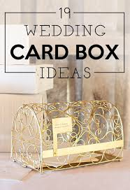 wedding gift card holder 19 wedding gift card box ideas