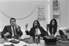 biography of john lennon in the beatles allen klein biography highlights a non musician that shaped rock