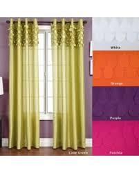 95 Inch Curtain Panels Deal Alert 55 Softline Betta Grommet Top 95 Inch Curtain