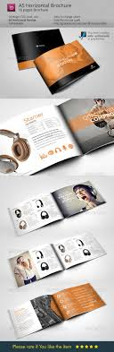 brochure layout indesign template horizontal brochure a5 audio life brochures a5 and audio