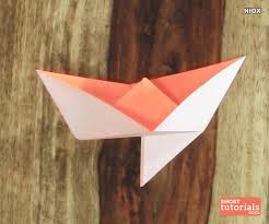 How To Make Boat From Paper - how to make a paper knife boat origami knife boat