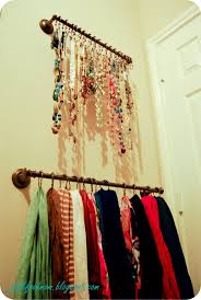 Creative Way To Hang Scarves by Best 25 Industrial Shower Curtain Rings Ideas On Pinterest