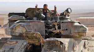 Kurds Discovered An Isis Tank And Did Something Awesome To by Assad Victory Claim Over Islamic State In Deir Ezzor World The