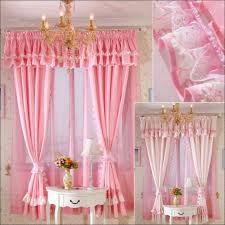 Pink Ruffle Blackout Curtains Interiors Fabulous 96 Inch Curtains Walmart Light Pink Curtains
