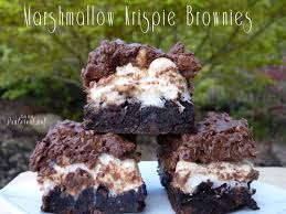marshmallow krispie brownies tgif this grandma is fun