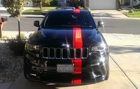 jeep srt 2007 2014 diy racing stripe cherokee srt8 forum