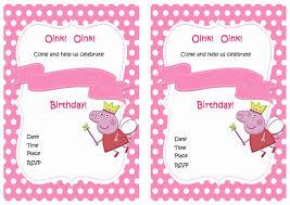 peppa pig birthday peppa pig birthday printable