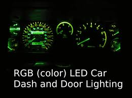 Rgb Led Car Dash And Door Lighting 7 Steps With Pictures