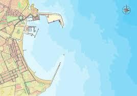 map port melilla port map