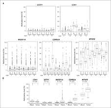quantitative analysis of dna methylation profiles in lung cancer