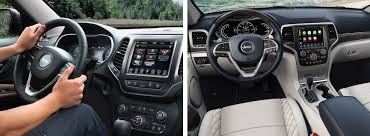 jeep grand cherokee interior 2018 2019 jeep cherokee vs 2018 jeep grand cherokee boonville mo