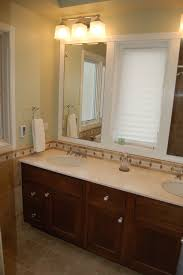 small bathroom above mirror lighting interiordesignew com