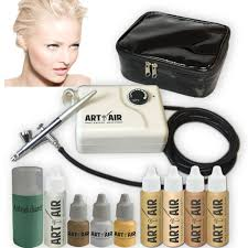 airbrush makeup for halloween amazon com art of air fair complexion professional airbrush
