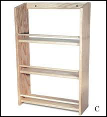 Extra Large Spice Rack Rustic Wood Retail Store Product Display Fixtures U0026 Shelving