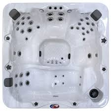 american spas 6 person 56 jet lounger spa with bluetooth stereo