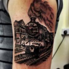 steam train tattoos billedresultat for traditional train tattoo
