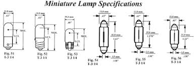 car replacement light bulb size guide automotive car replacement visual light bulb finder specifications