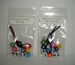 party favor bracelets custom order for mckinzie 20 create your own bracelet kits