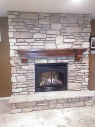 gas fireplace stone sets pictures home design planning simple