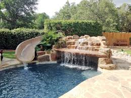 Westview Pools in Boerne Texas 10 Garden Ride Slide