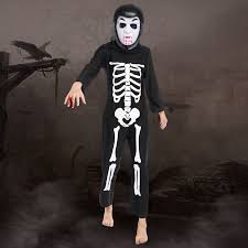 Halloween Costume Skeleton Buy Wholesale Kids Skeleton Costumes China Kids