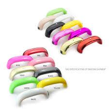 9w usb line mini led lamp portable nail dryer rainbow shaped nail