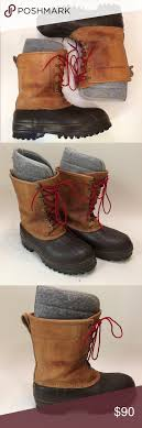 ll bean s boots size 12 ll bean insulted maine boots size 11 no size tag marked a