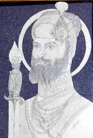 pencil sketch of guru hargobind ji desipainters com