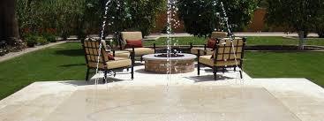 landscape ideas for backyard az patio fire pits in arizona design